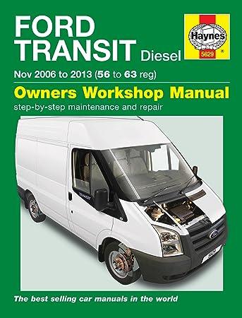ford transit diesel owner s workshop manual 2006 2013 haynes rh amazon co uk 2016 Ford Transit Ford Transit Custom