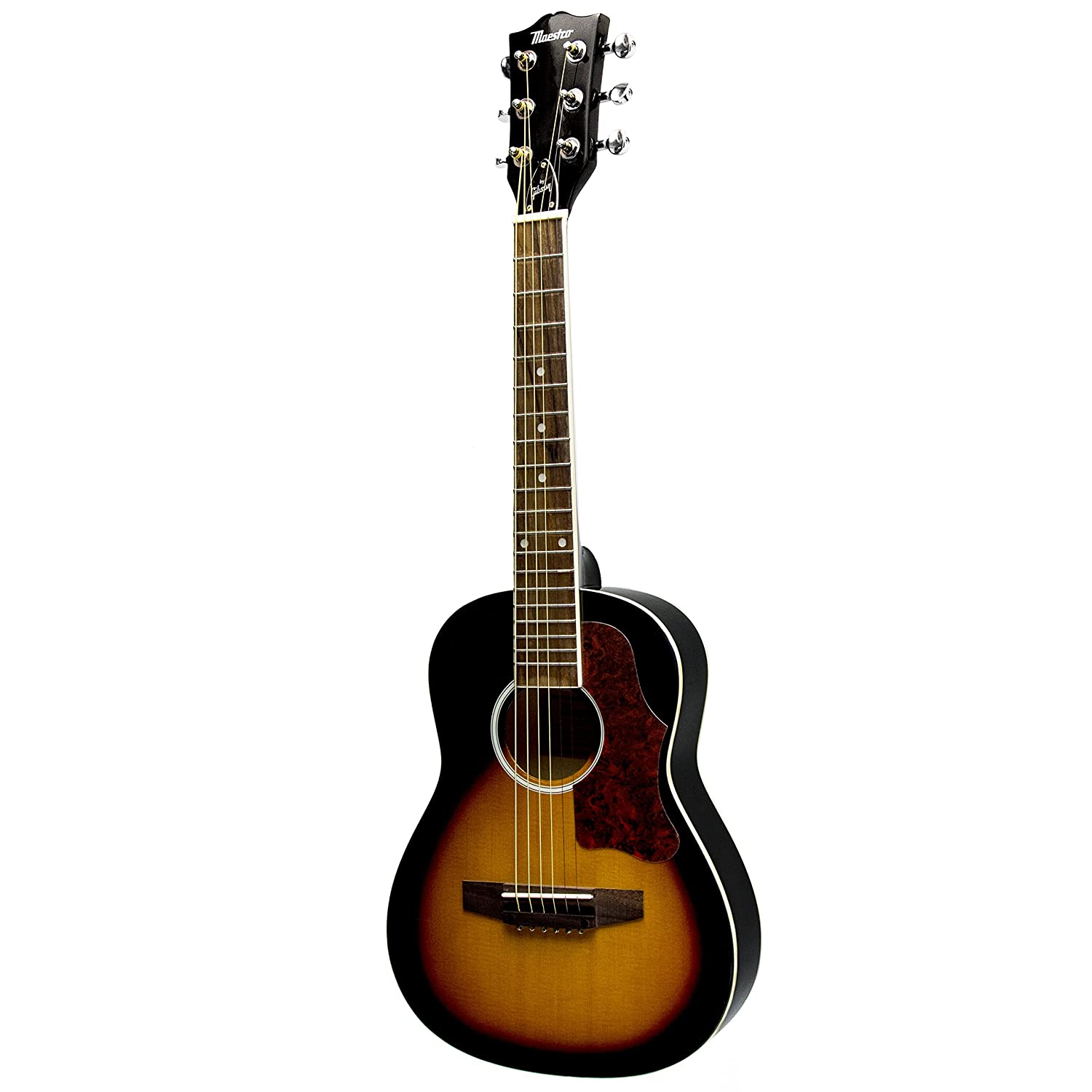 maestro by gibson 30 mini acoustic guitar with gig