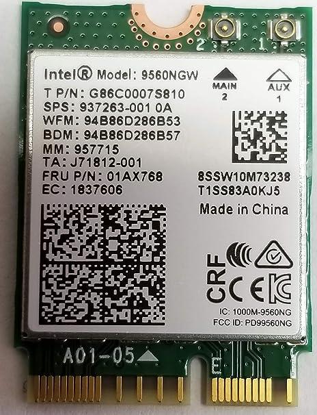 Gigabit Intel Wireless-Ac 9260 Vpro 2X2 Ac+Bt 2230