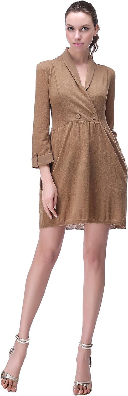 Richie House Womens Long Pullover Sweater Dress Size Xs-XL Rh2066
