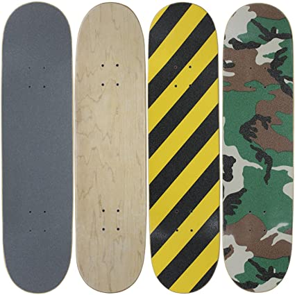 Amazon com : Moose 4 Blank Skateboard Decks 8 0