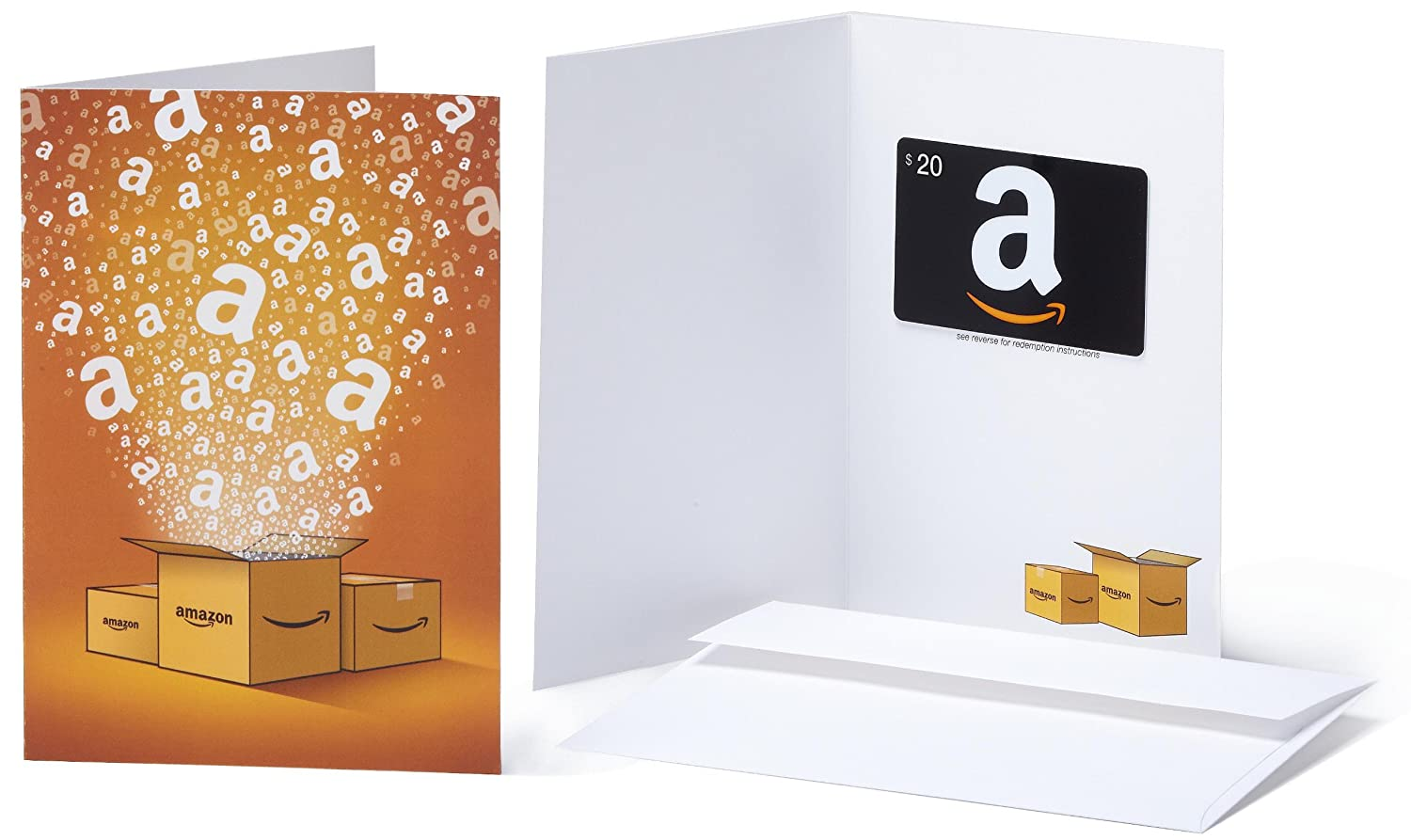 Amazon.com Gift Karte in a Greeting Card