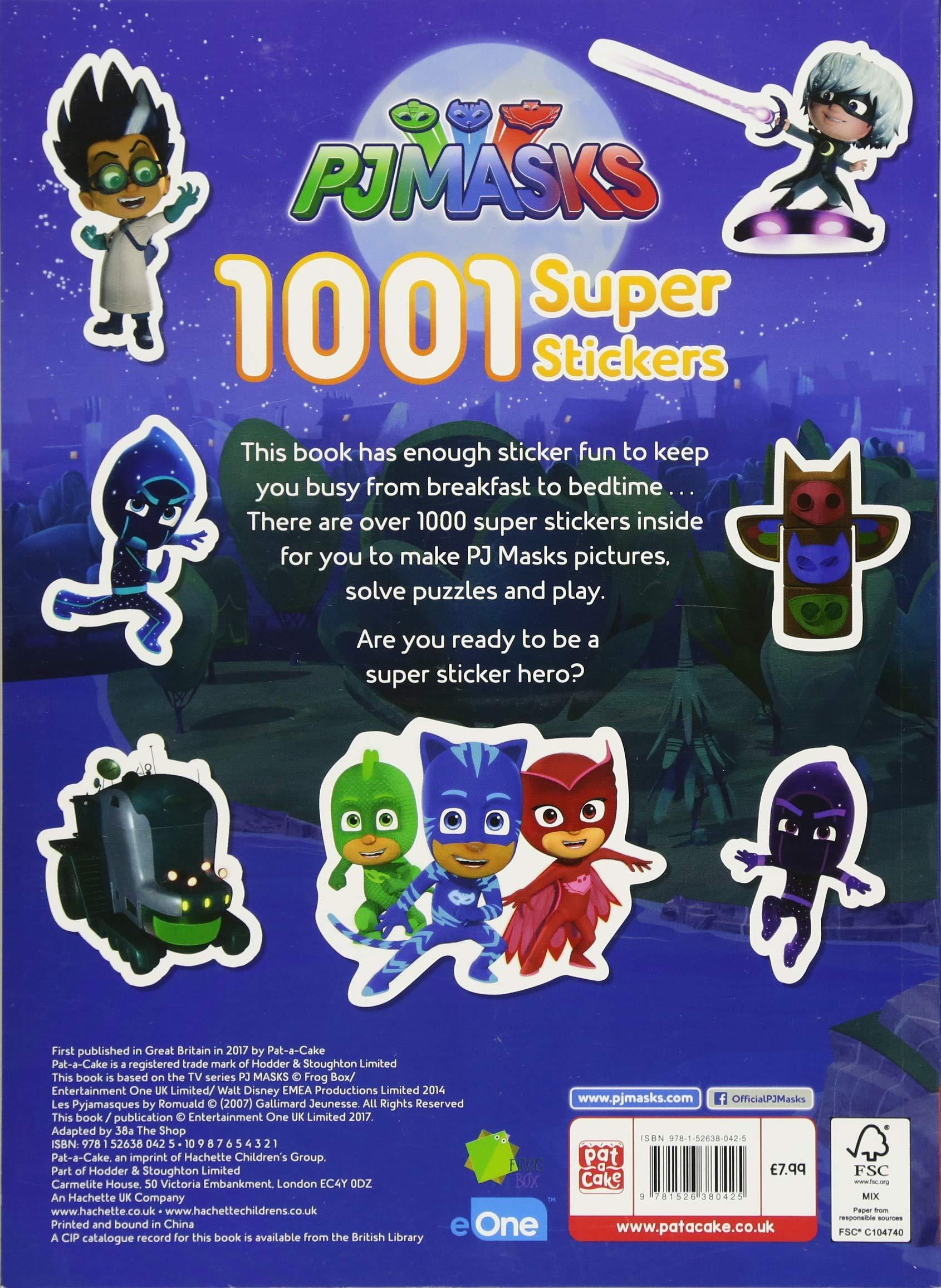 1001 Super Stickers (PJ Masks): Amazon.es: Pat-a-Cake, PJ Masks: Libros en idiomas extranjeros