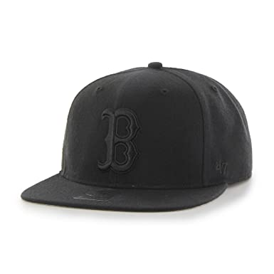 47 MLB Boston Red Sox Sure Shot On Black Captain Gorra de béisbol ...