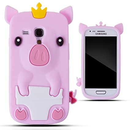 Amazon.com: Zooky® rosa silicona Piggy Case/Cover/Carcasa ...