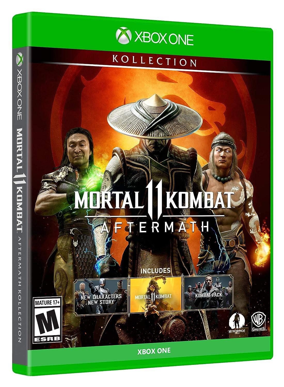 Amazon Com Mortal Kombat 11 Aftermath Kollection Xbox One Whv