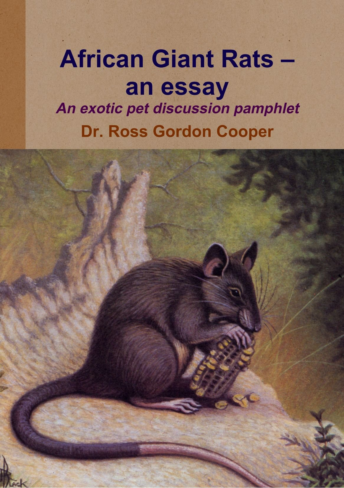 African Giant Rats - An Essay pdf