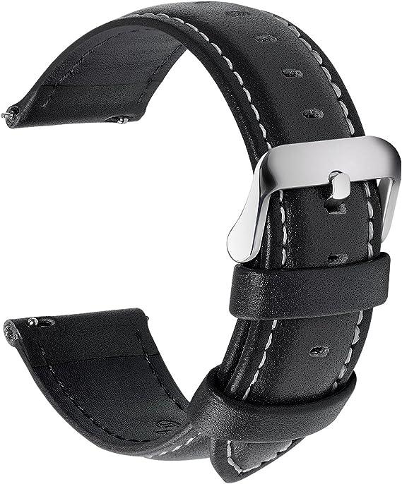 Amazon.com: Banda para reloj de cuero de liberación ...