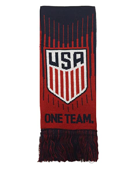 ef128012e5b28 Official USA Soccer Scarf, One Team One Nation US Soccer Scarf