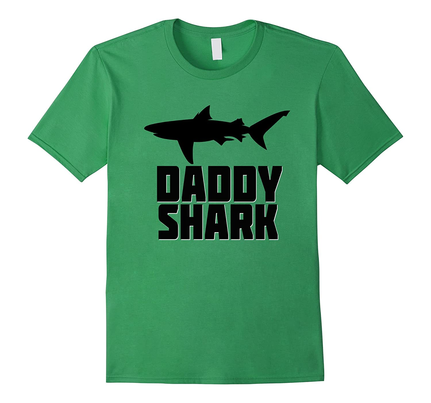 Daddy Shark Shirt Matching Family Tribe Dad Papa Father-CD ...