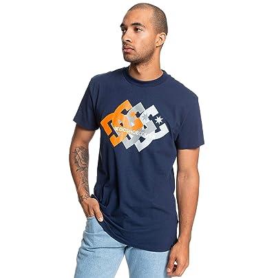 DC Shoes Logo Ballad - Camiseta para Hombre EDYZT04034: Amazon.es ...
