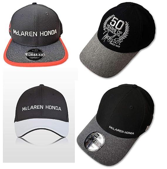 McLaren F1 Team Vandoorne - Juego de 4 Gorras para Aniversario de ...