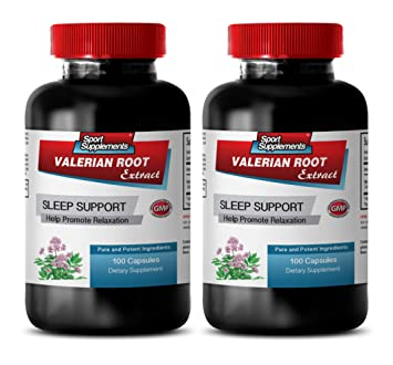 Sleeping aids for Insomnia - Valerian Root Extract 125MG - Help Promote Relaxation - Valerian Root