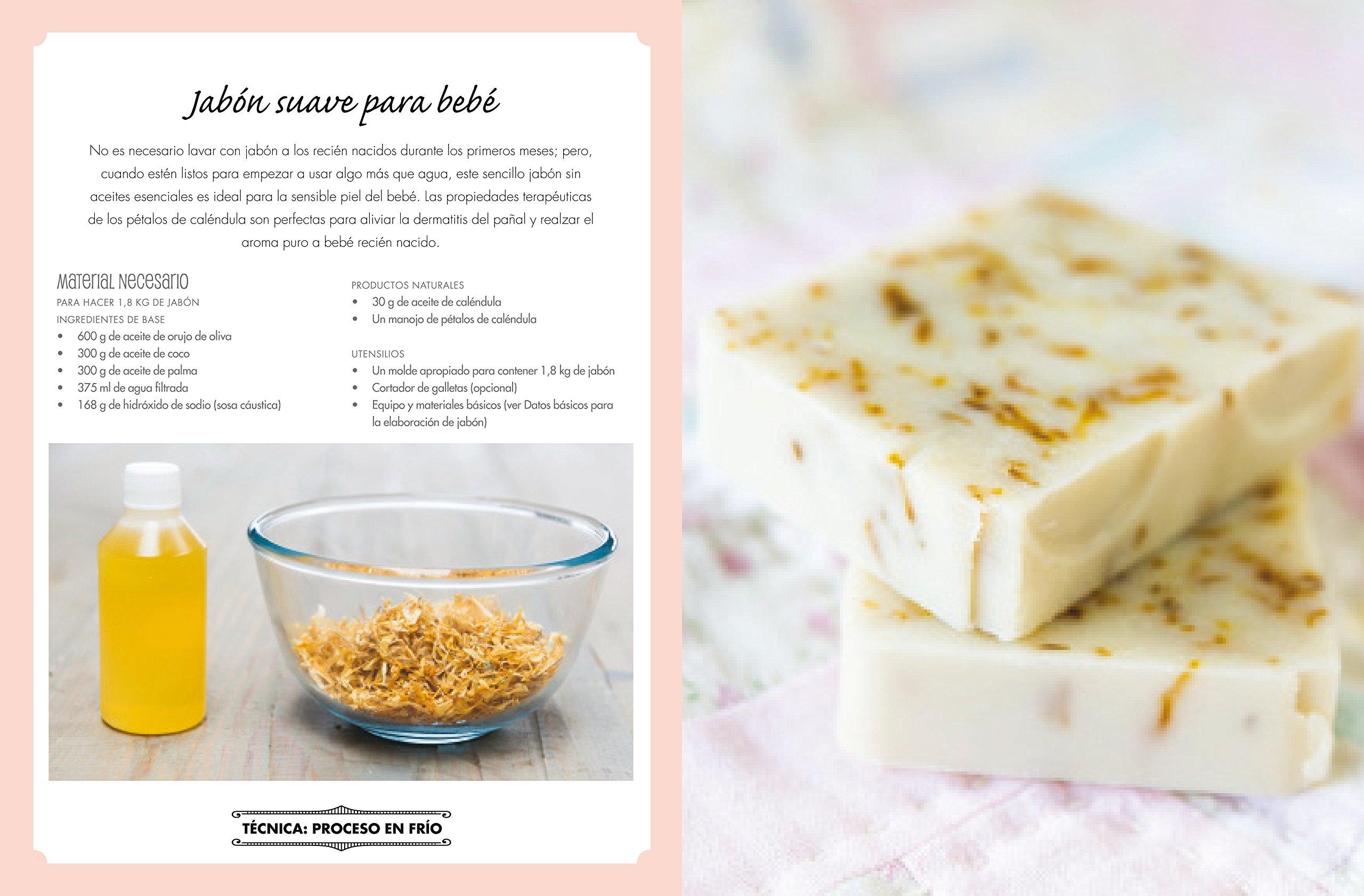 El libro de los jabones naturales y artesanales: 20 recetas de ...