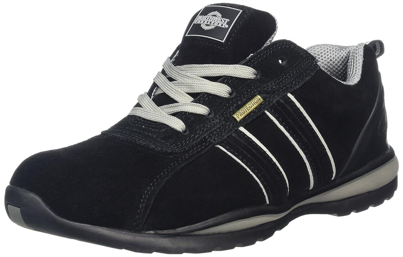 Northwest Territory Hombre Zapatos de Puntera de Seguridad de Cuero: Amazon.es: Zapatos y complementos