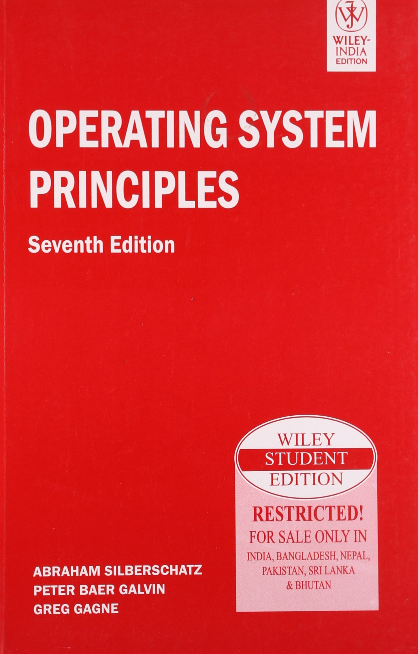 Operating System Principles By Galvin Ebook
