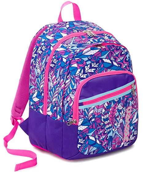 differently info for competitive price Zaino Scuola Fit Seven , BUTTERFLY , Viola Rosa , 28 Lt ...