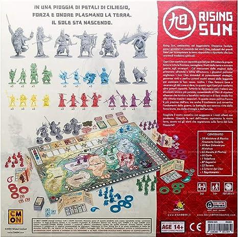 Asmodee Italia Rising Sun 10300 - Juego de Mesa en Miniatura, Color: Asmodee: Amazon.es: Juguetes y juegos