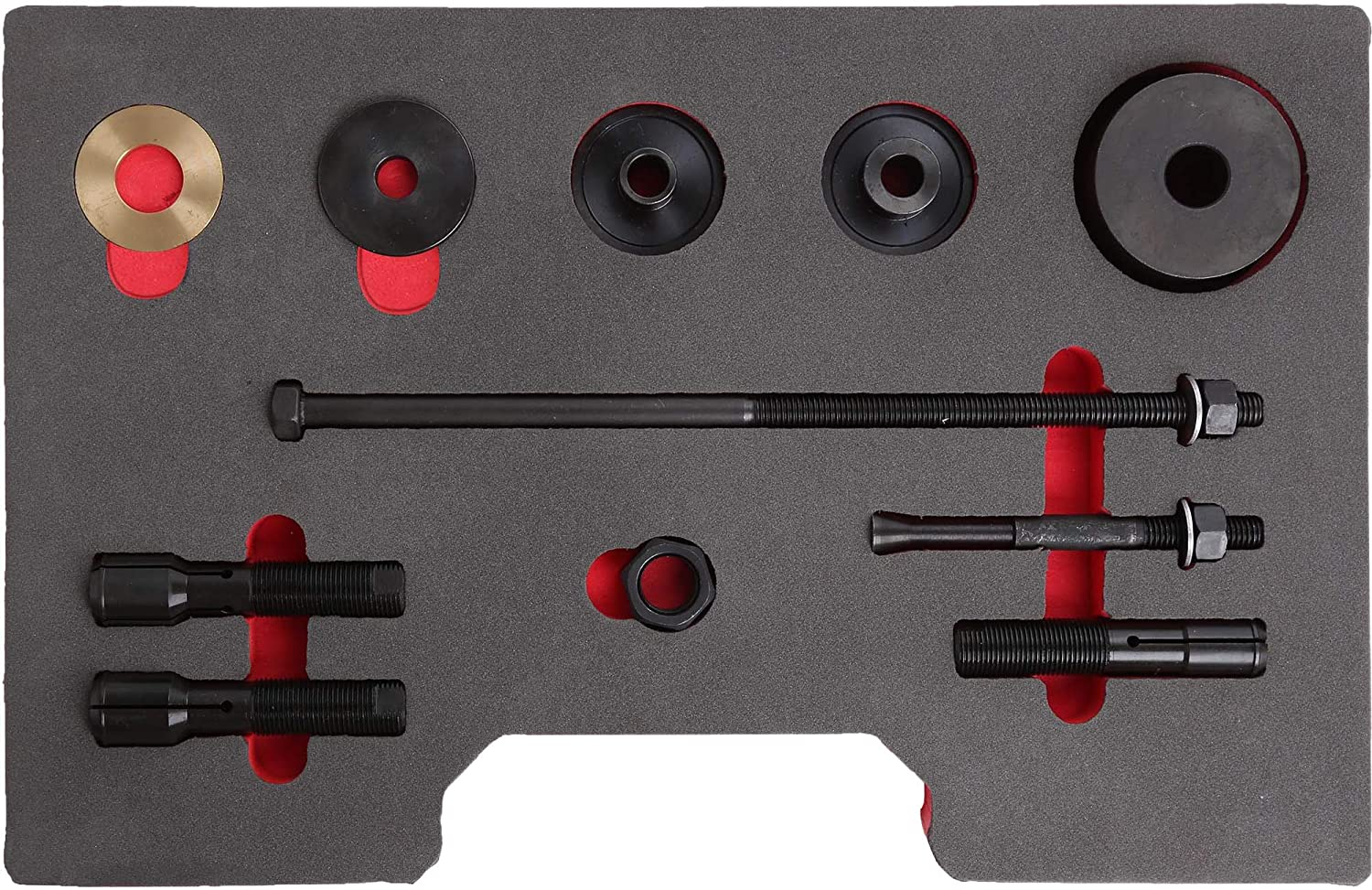 WINMAX TOOLS AUTOMOTIVE Compatible for Wheel Bearing Remover Installer Puller Tool Set for Harley Davidson VT102