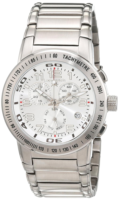 LÖwenstein Herren-Armbanduhr Analog Automatik Edelstahl LO-HQ22164-894W