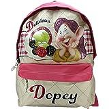 Disney Dopey Seven Dwarfs Backpack Handbag Messenger bag Delicious