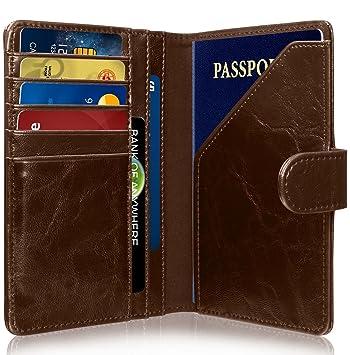 Greatshield RFID NFC Protége Blocage Porte-Passeport Housse + Porte Carte  de Crédit   736dd57e823