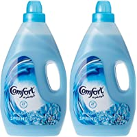 Comfort Fabric Softener Spring Dew, 3 Litre (Twin Pack)