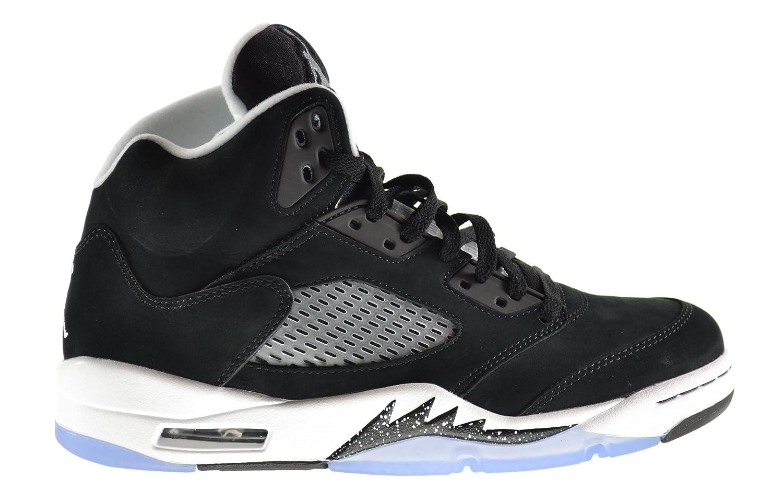 fe7b08bb122a7 Jordan Air 5 Retro Oreo Men s Shoes Black Cool Grey-White 136027-035 (10.5  D(M) US)  Amazon.co.uk  Shoes   Bags