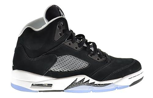 Air Jordan 5 Retro Oreo Zapatos para Hombre, Color Negro y