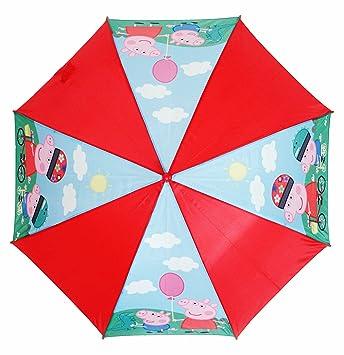 Peppa Pig Paraguas automatico de 46cm