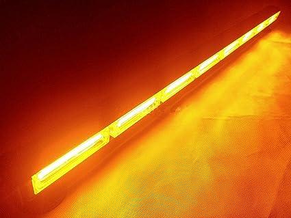 108/W Led luz de trabajo Bar remolque cami/ón Faro Luz Emergencia Advertencia L/ámpara De Luz Estrobosc/ópica /ámbar 895/mm