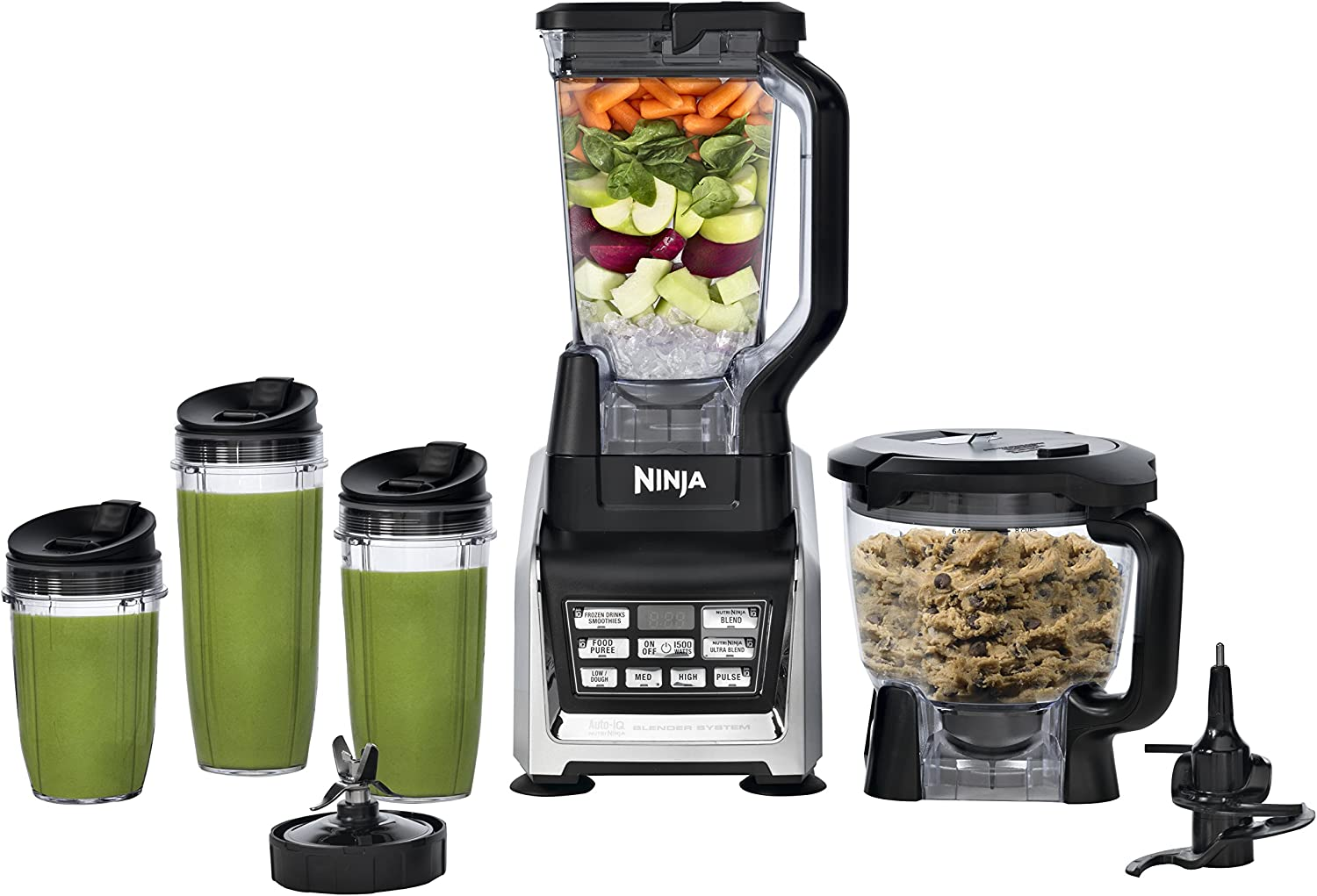Nutri Ninja Blender/Food Processor with Auto-iQ 1200-Watt