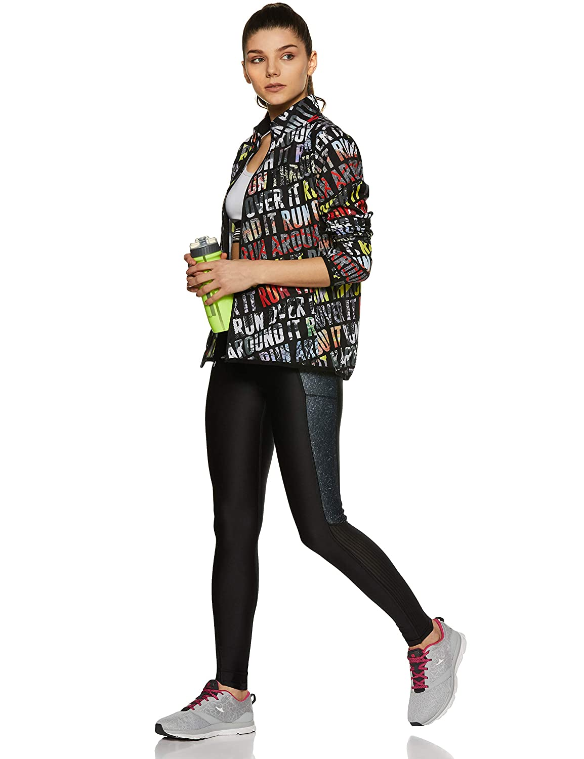 Under Armour Womens Fly-By Printed Legging Under Armour Apparel 1297937