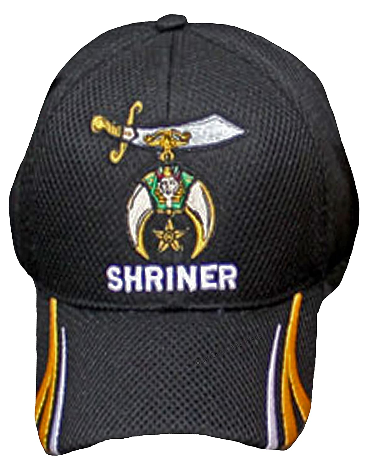Buy Caps And Hats Shriner Hat Baseball Masonic Shriners Mens Black Baseball Cap Bumper Sticker