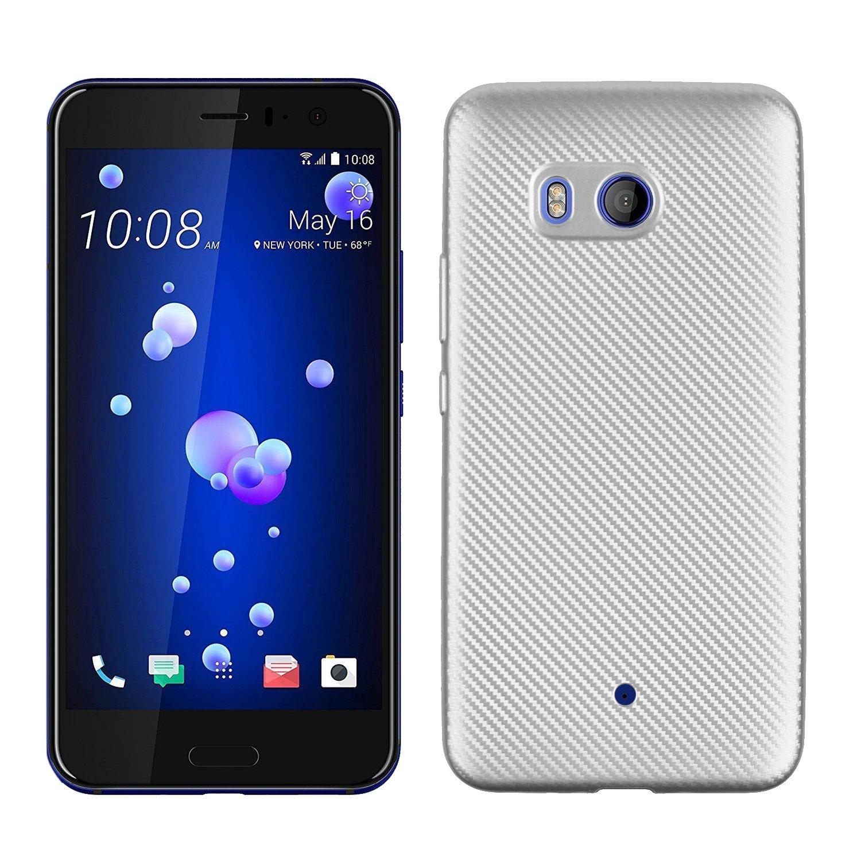 Funluna HTC U11 Funda - Amortiguador de Parachoques con Fibra De ...