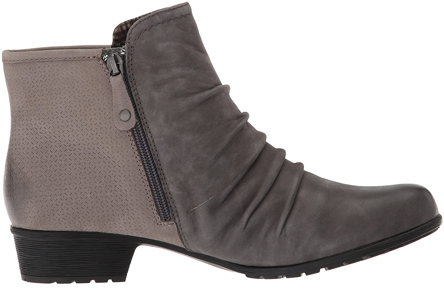 Cobb Hill Women's Gratasha Panel Ankle Boot B01MV6RW7W Nubuck 9.5 B(M) US|Dark Grey Nubuck B01MV6RW7W 68b02d