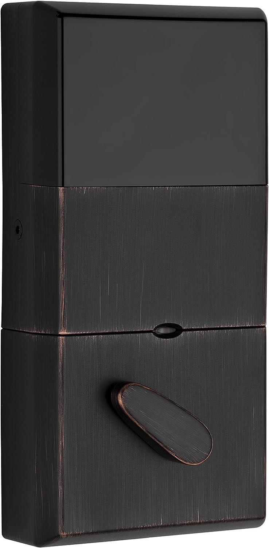 Contemporary, Venetian Bronze Wesier Smartcode Deadbolt GED1490 SMT MS