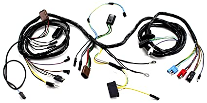 image unavailable  image not available for  color: mustang head light wiring  harness with tach gt 1967