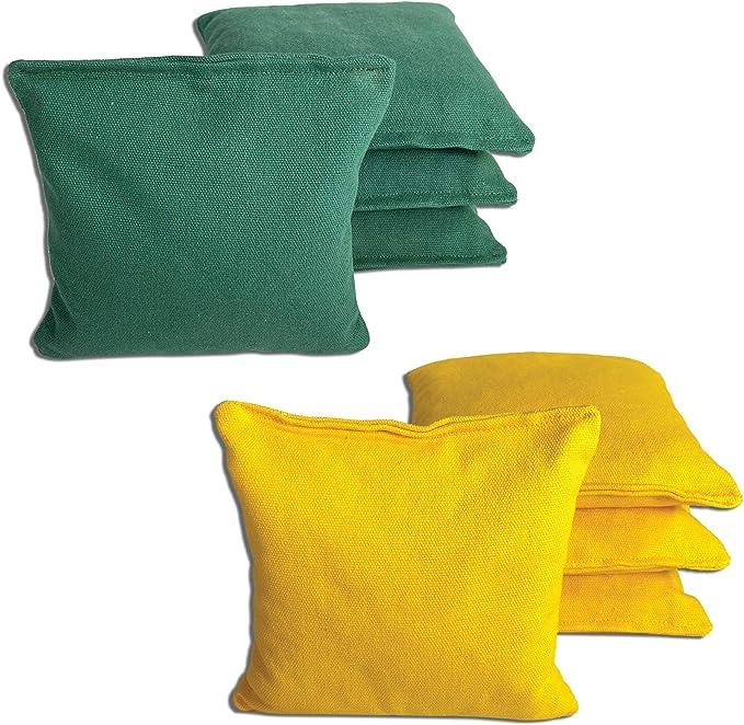 PITTSBURGH STEELERS 8 Cornhole Bean Bags ALL WEATHER Resin Filled Waterproof!