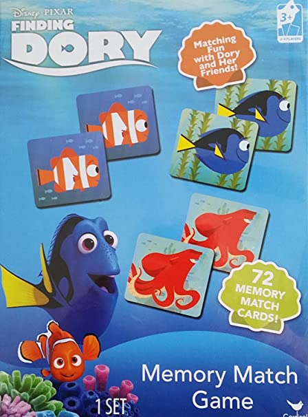 amazon com finding dory memory match game toys games