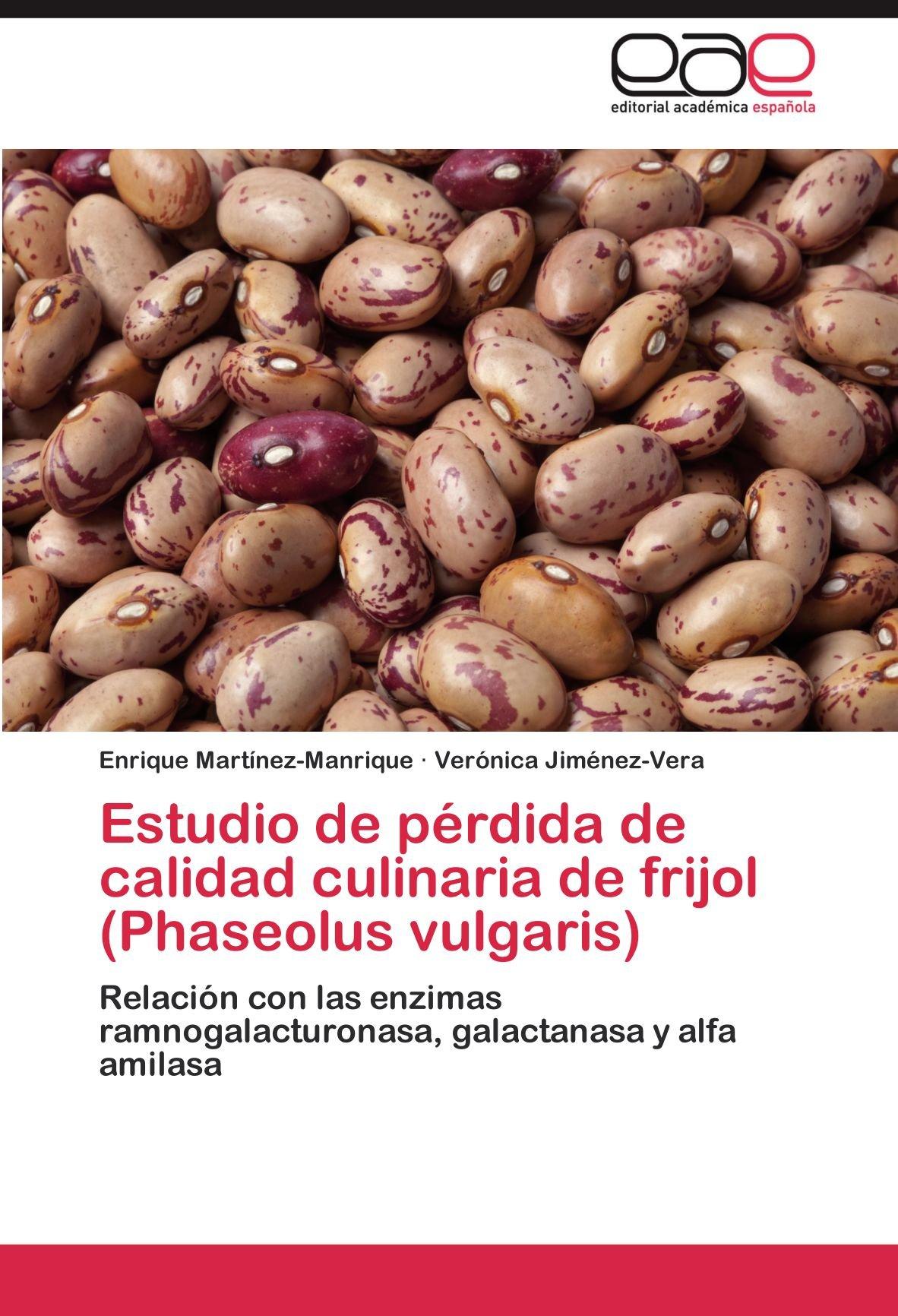 Estudio de pérdida de calidad culinaria de frijol (Phaseolus ...
