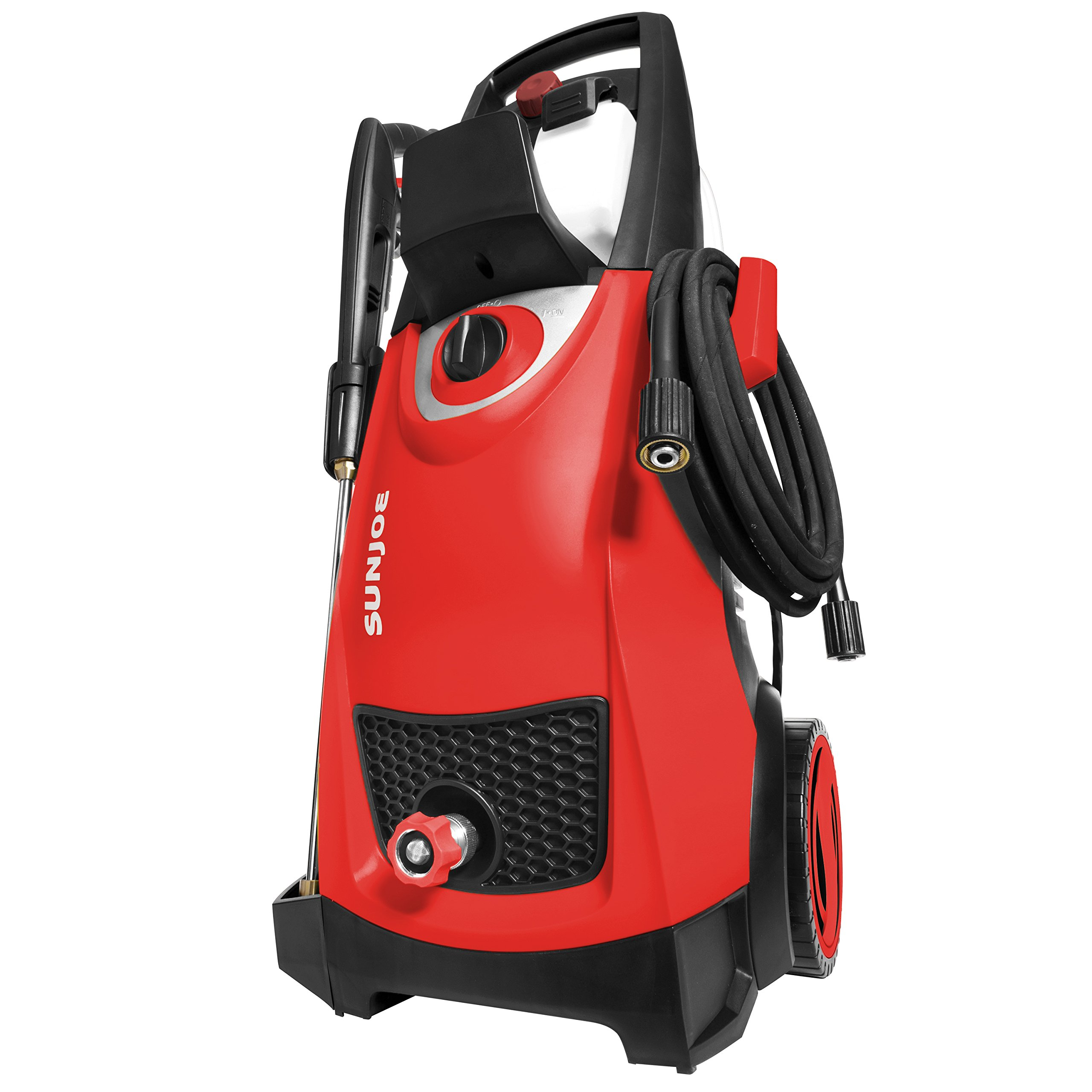 Sun Joe SPX3000-RED Pressure Joe 2030 PSI 1.76 GPM 14.5-Amp Electric Pressure Washer, Red by Sun Joe