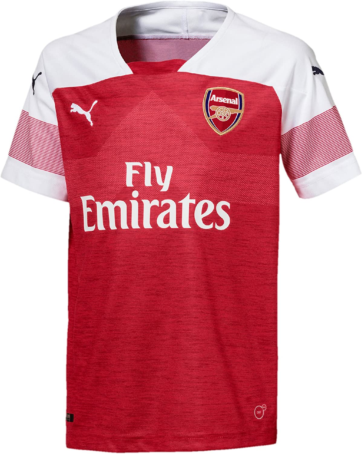 PUMA Arsenal FC Home Shirt Replica SS Kids with EPL Sponsor Logo ...