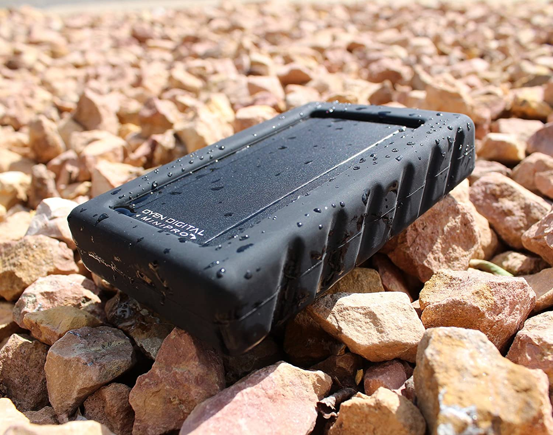 MiniPro Dura USB-C 2TB Rugged Portable Solid State Drive SSD USB 3.1