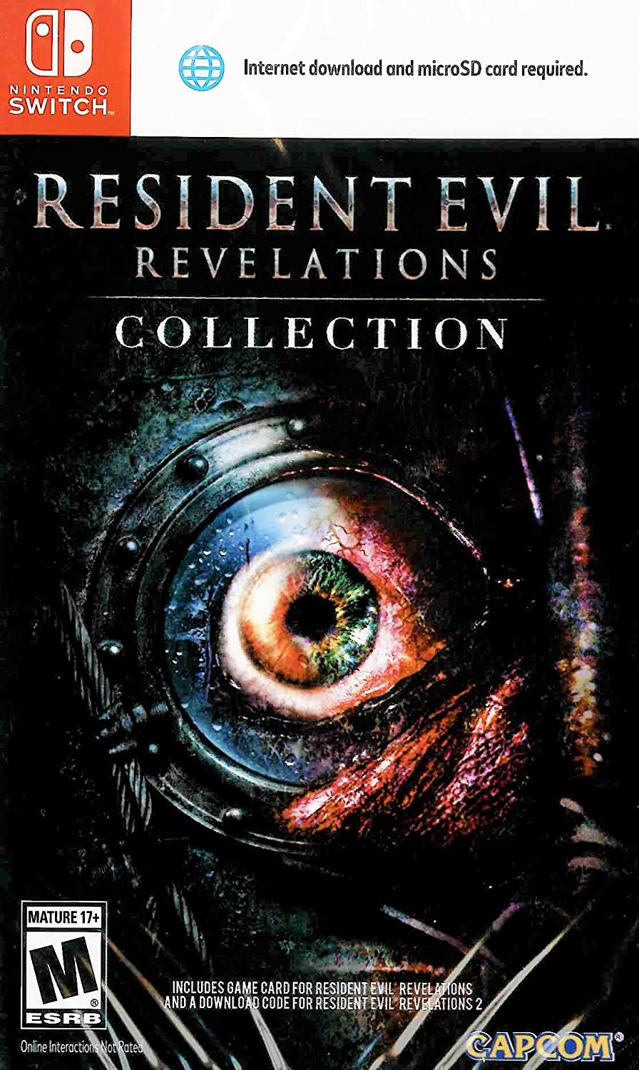 Resident Evil Revelations 1+2 Switch US Remastered (Teil 2 CIAB ...