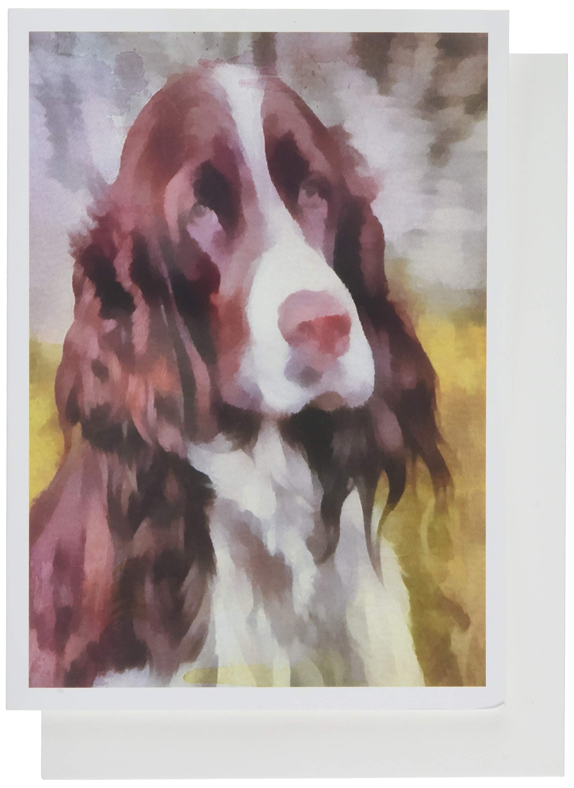 English Springer Spaniel - Dog Blank Note Cards - Set of 6 with Envelopes by