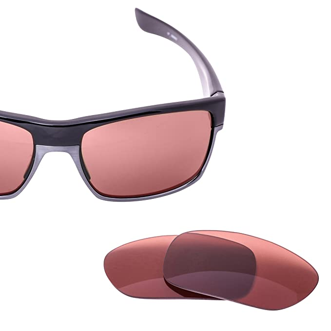 af778035028 LenzFlip Lens Replacement for Oakley TWOFACE Sunglass Frame- Rose Polarized  Lenses  Amazon.in  Clothing   Accessories