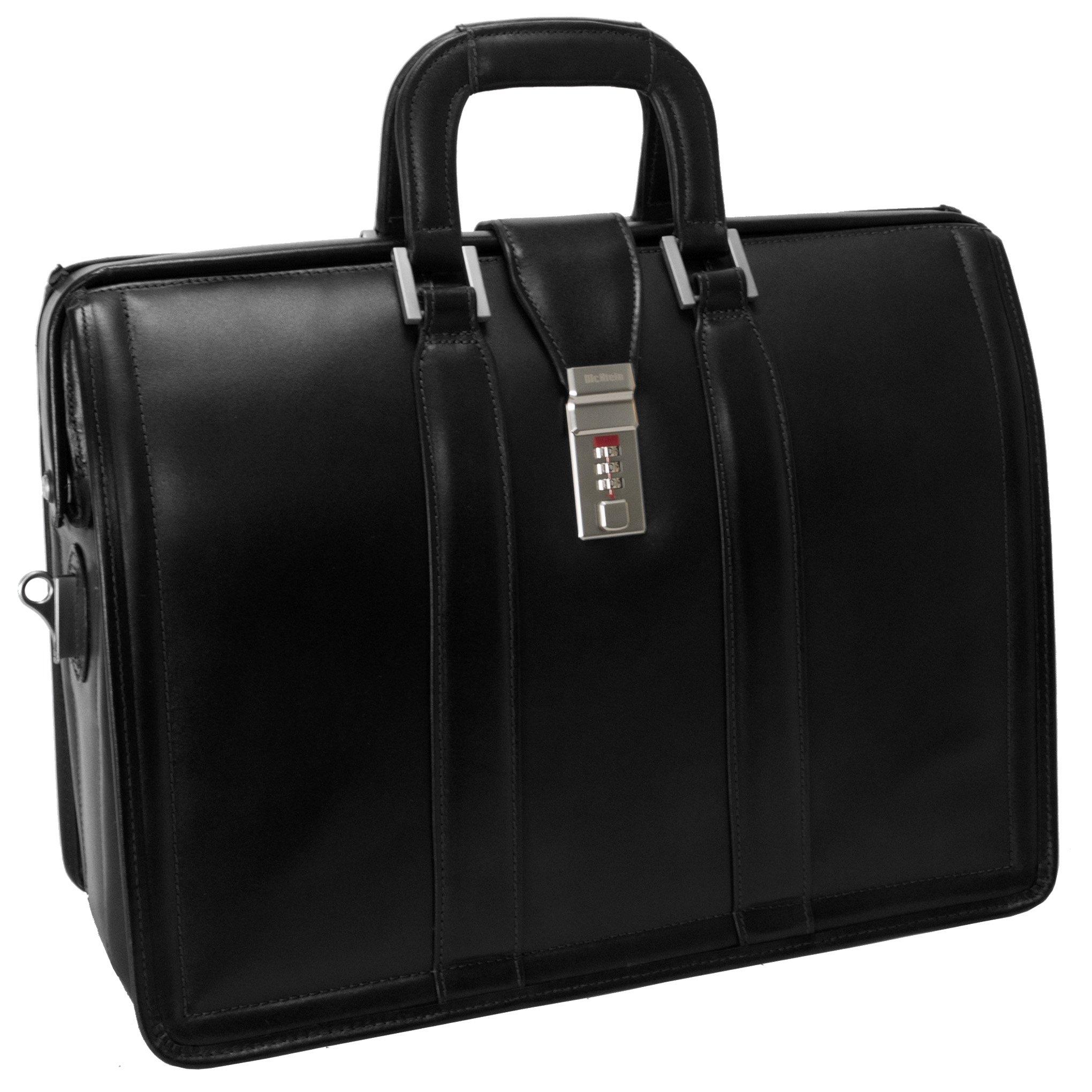McKleinUSA MORGAN 83345 Black 17 Litigator Laptop Brief by McKleinUSA