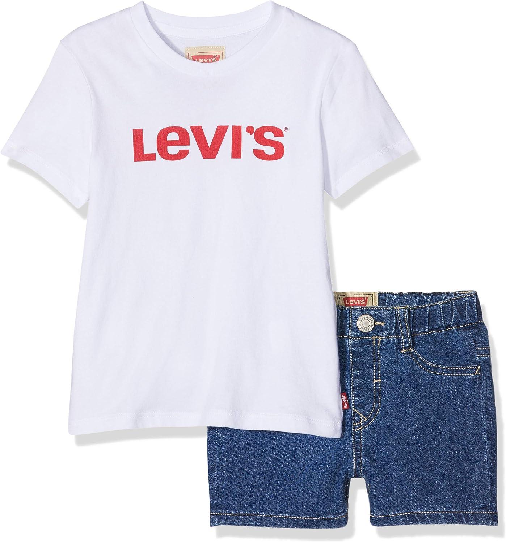 Levis kids Nn37004 Outfit Conjunto, Multicolor (Assortiment 99), 3 años (Talla del Fabricante: 36M) para Niños: Amazon.es: Ropa y accesorios