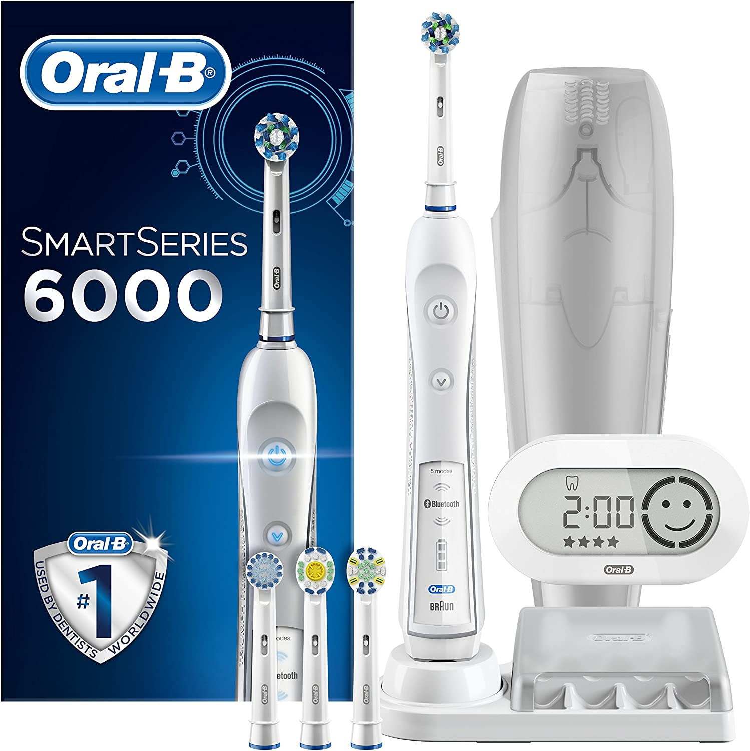 Oral B SmartSeries 6000 CrossAction Electric Toothbrush, 1